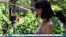 Découvrez les 16 candidates au concours Miss Provence