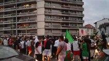 Annemasse : scènes de liesse après la victoire de l'Algérie