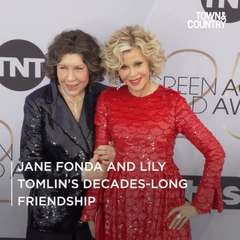 Looking Back at Jane Fonda and Lily Tomlin's Decades-Long Friendship