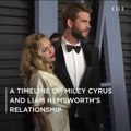 A Timeline of Liam Hemsworth and Miley Cyrus's Relationship
