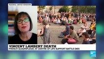 The case of Vincent Lambert raises 'bigger questions'