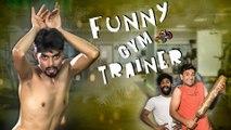 Funny Gym Trainer || Deadly Comedy Video || Kiraak Hyderabadiz