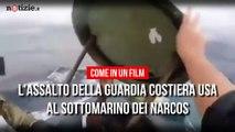L'assalto ai Narcos della Guardia Costiera Americana: l'inseguimento | Notizie.it