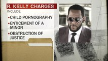 """New R. Kelly charges mean singer is facing """"decades"""" behind bars, legal expert says"""