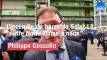 """Incendie au Haras de Saint-Lô : """"Au niveau de la force du symbole, c'est un peu notre """"Notre-Dame"""" à nous"""""""