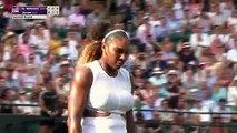 Serena Williams shakes off rough start, beats Kaja Juvan in 2nd round _ 2019 Wim