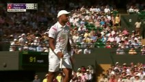 Roger Federer advances to 3rd round in straight sets vs. Jay Clarke _ 2019 Wimbledon Highlights