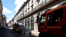 Incendie d'appartement rue de la République à Besançon