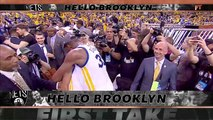 Kevin Durant is chasing LeBron's legacy with his move to Brooklyn _ First Take