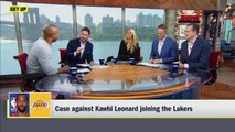 Jay Williams imitates Magic Johnson to make case against Kawhi to the Lakers _ Get Up