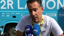 Comment l'équipe AG2R la Mondiale a reconnu l'étape Mâcon / Saint-Etienne