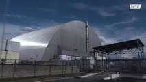 New sarcophagus encasing Chernobyl nuclear power plant unveiled