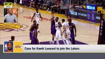 LeBron will pass the torch to Kawhi if he picks Lakers – Jay Williams _ Get Up