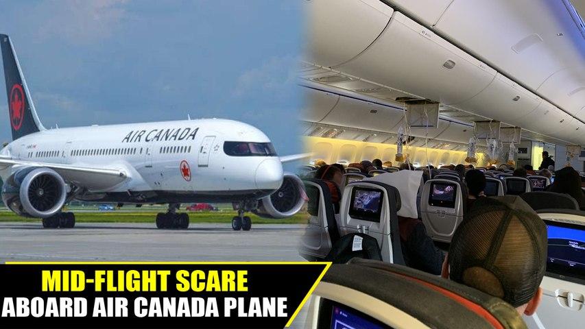 Air canada flight hits intense turbulence