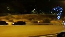 Vídeo cedido por un conductor de VTC grabado en los accesos al Mad Cool Festival.