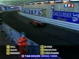 F1 1996_Manche 6_Grand Prix de Monaco_Course_5 premiers tours (en français - TF1 - France) [RaceFan96]