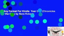 Any Format For Kindle  Year One (Chronicles of the One) by Nora Roberts