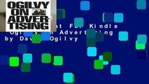 Any Format For Kindle  Ogilvy on Advertising by David Ogilvy