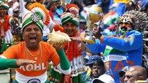 World Cup 2019 : ஐசிசிக்கு சங்கடத்தை கொடுக்கும் இந்திய ரசிகர்கள்- வீடியோ