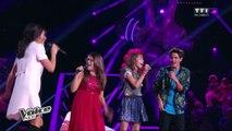 Mélina, Carla, Paul et Jenifer revisitent « Kiss You » des One Direction