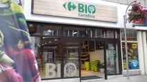 Ouverture de magasin carrefour bio