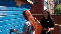 Teenagers provide Priory School makeover