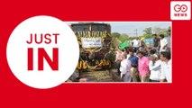 Water Train Arrives In Chennai