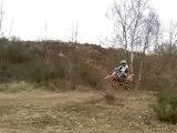moto cross 250 et 450 ktm