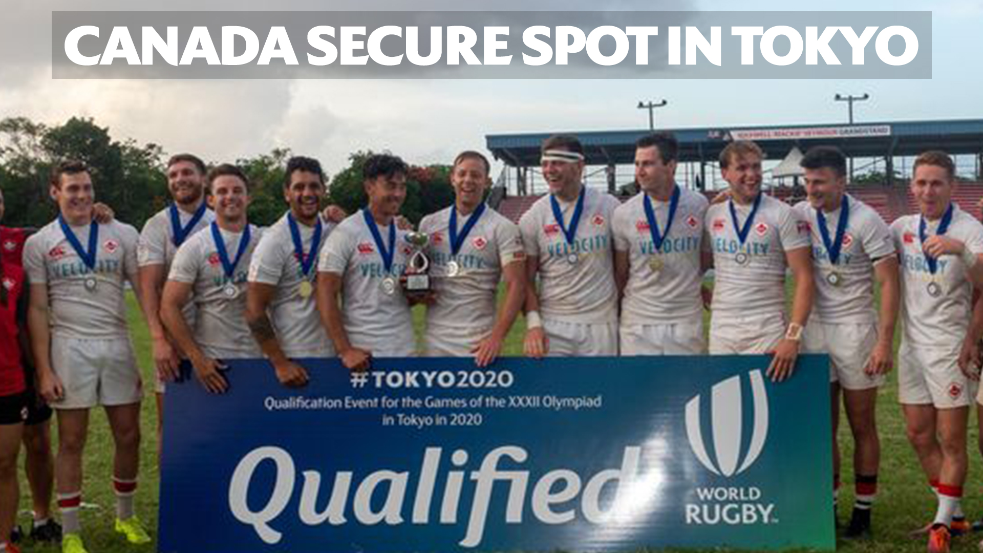 Canada secure their spot at Tokyo 2020