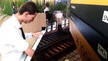 """Bastien : """"le piano de la gare de Metz est mon refuge"""""""