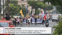 Filipinos reject Duterte's passive stance on maritime dispute with China