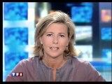 "TF1 - 27 Août 2006 - Météo, teasers, ""Trafic Info"", pubs, JT 13H (Claire Chazal)"