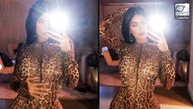 Fans Accuse Kylie Jenner Of Copying Rihanna By Wearing Leopard Catsuit