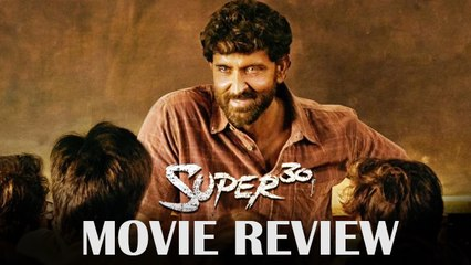 Super 30 Movie Review  Hrithik Roshan  Mrunal Thakur