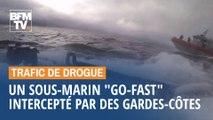 Un sous-marin rempli de drogue intercepté par les gardes-côtes américains