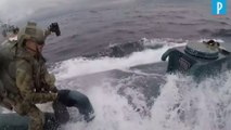 Etats-Unis : les garde-côtes interceptent un mini sous-marin rempli de drogue