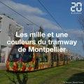 Les mille et une couleurs du tramway de Montpellier