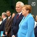 «Je vais très bien» , assure Merkel après de nouveaux tremblements