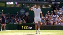 Wimbledon : Un échange fou de 45 coups entre Djokovic et Bautista-Agut !