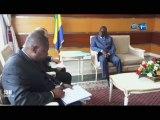 RTG/Audience du Ministre de la santé avec plusieurs personnalités dont le représentant de l'UNICEF