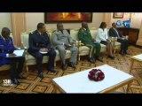 RTG/Audience du Président de la république avec le Ministre  de l'intérieur et de la justice