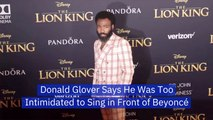 Donald Glover Had The Chance To Sing For Beyonce