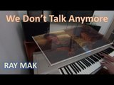 Charlie Puth Ft. Selena Gomez - We Don't Talk Anymore Piano by Ray Mak