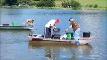 Metzing : l'étang communal envahi par les poissons chats