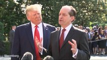 Labor Secretary Acosta Says Resigning Is the Right Thing to Do