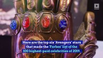The Six Highest-Paid 'Avengers: Endgame' Stars