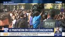 """Manifestation des """"gilets noirs"""": le Panthéon en cours d'évacuation"""
