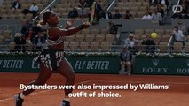 Serena Williams Wins French Open Round Wearing Virgil Abloh