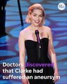 'Game of Thrones' star Emilia Clarke suffered two aneurysms during time on show
