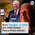 President Jimmy Carter sets a new record at 94 years old